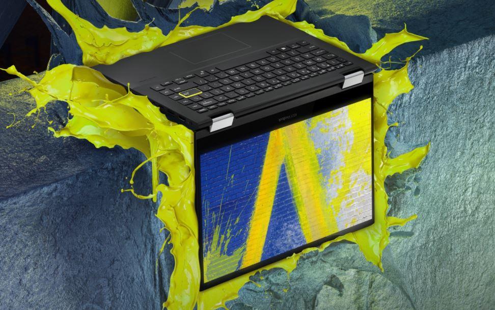 Asus Vivobook Flip TP470EZ EC752TS, Laptop untuk Kreator Muda Bertenaga Intel Core i7-1165G7
