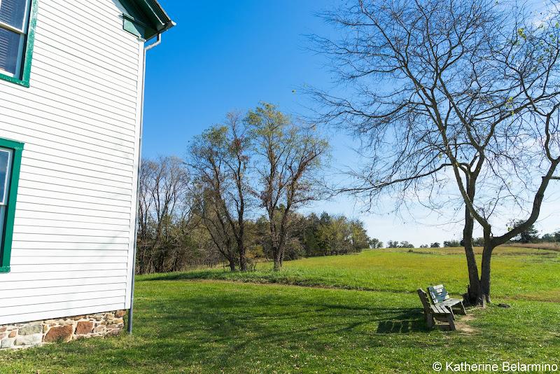 Brawner Farm Interprtive Center Manassas National Battlefield Park Northern Virginia