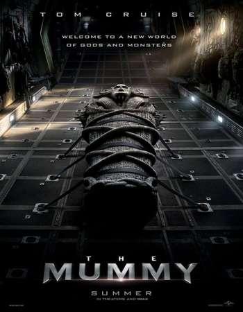 The Mummy 2017 Hindi ORG Dual Audio 500MB BluRay 720p ESubs HEVC