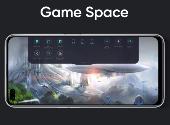 Realme x3 gaming space.