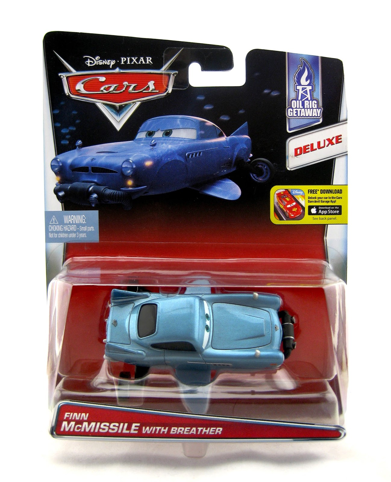 Mattel Cars 2 Finn Mcmissile With Breather