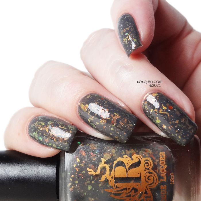 xoxoJen's swatch of Rogue Lacquer This is Hellaween