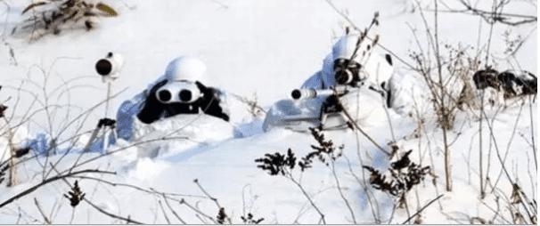 traje ghillie para nieve