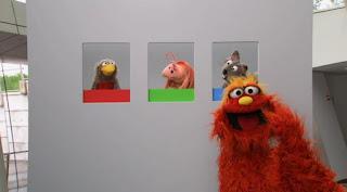 Murray the Museum of Modern Remembering, Sesame Street Episode 4318 Build a Better Basket season 43