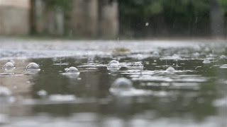 Relating to rain or rainfall