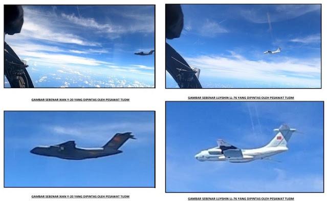 16 Pesawat China Terabas Zona Penerbangan, Malaysia Akan Panggil Dubes Tiongkok