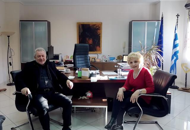 Ήγουμενίτσα: Συνάντηση του Δημάρχου Ηγουμενίτσας με την Γενική Γραμματέα Φορολογικής Πολιτικής