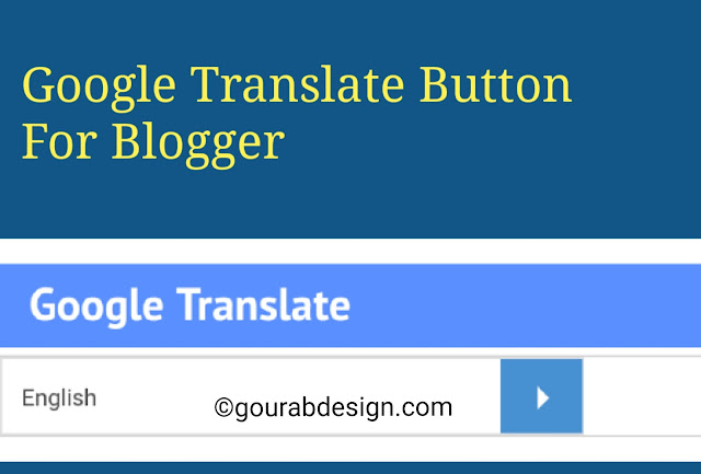 Google translate widget image