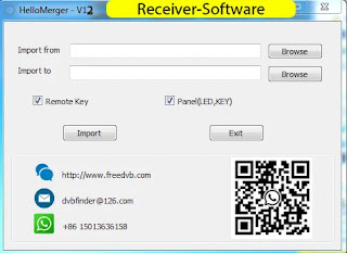 Gx6605s Hello Merger V1.2 Adjustment Tuner, Remote, panel Led Key