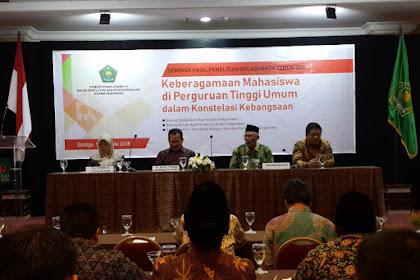 Wow, Seminar Hasil Penelitian Balai Litbang Agama Semarang Ungkap 42 Persen Mahasiswa LDK Setuju Khilafah