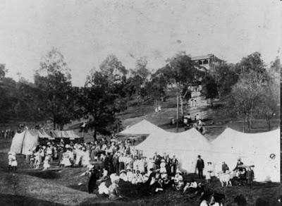 Oddfellows' Village Fair at Dutton Park, 1909. (JOL)