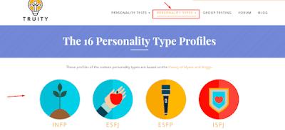 انماط الشخصية - personality types