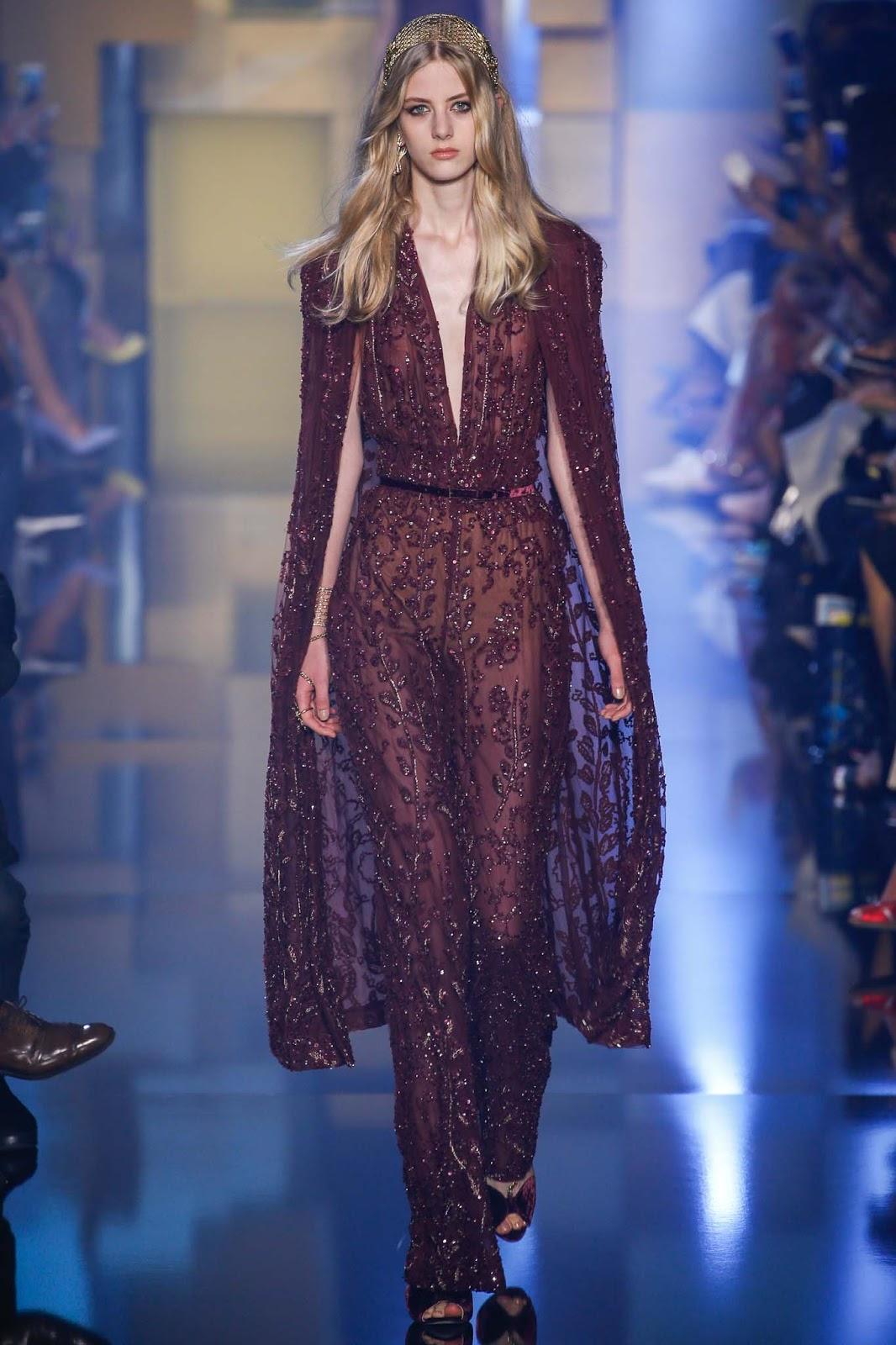 RUNWAY REPORT..Paris Couture Fashion Week: Elie Saab