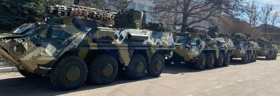 ХКБМ передало військовим ще 4 БТР-4 за простроченим контрактом