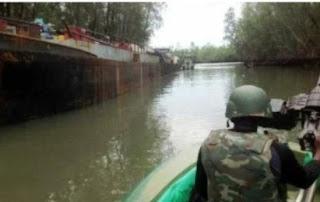 JTF Invades Bayelsa Community, Raze Palace, Houses To The Ground