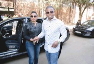 Shepherd Bushiri and his wife