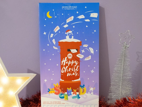 Personalised Chocolate Advent Calendar from Morse Toad