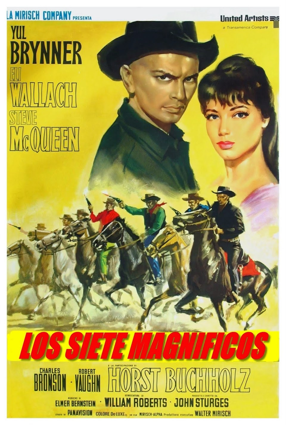 LOS SIETE MAGNIFICOS (1960) THE MAGNIFICENT SEVEN