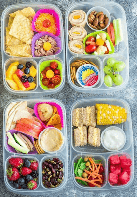 4 Healthy Lunch Box Recipes For School Kids