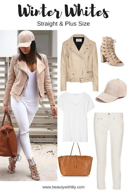 Winter White Outfit Ideas - Chic Outfit | How to style white during the winter months >>> beautywithlily.com