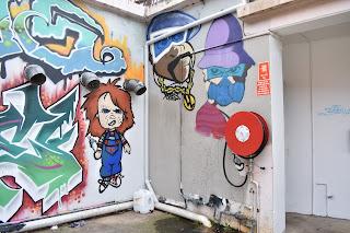 Warwick Farm Street Art | Chucky Mural by Yehar, Swaze & Ugga