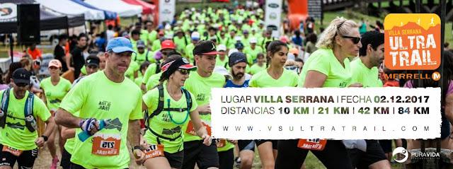 Ultra trail Villa serrana (Lavalleja, 84k - 42k - 21k - 10k, 02/dic/2017)
