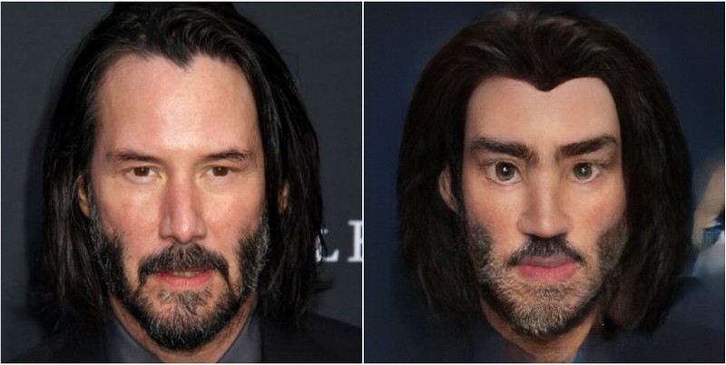 Keanu Reeves Transform into Disney characters using neural networks