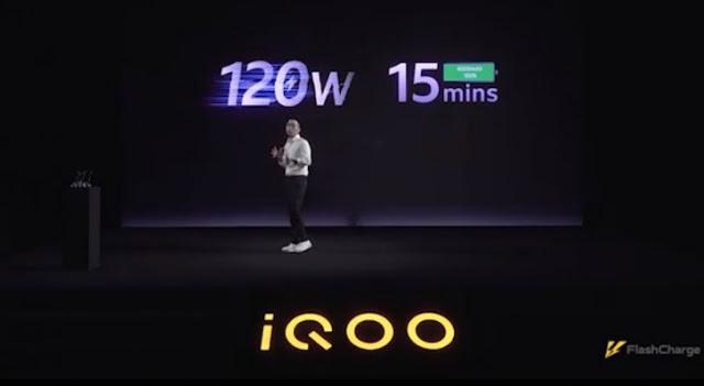 فيفو تكشف رسميا عن تقنيتها للشحن السريع جدًا Super FlashCharge 120W