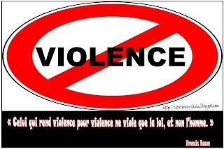 Citation sur violence  -  Citation sur la vie