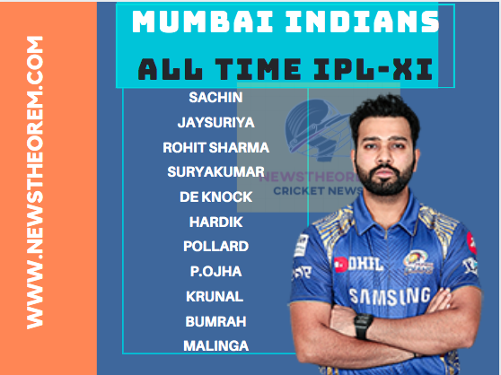 IPL: Mumbai Indians (MI):  All Time Best Playing XI, check the list