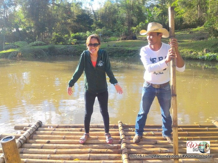 bamboo water rafting