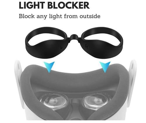 X-SUPER HOME Oculus Quest 2 Foam Replacement Widen Facial Interface Pad