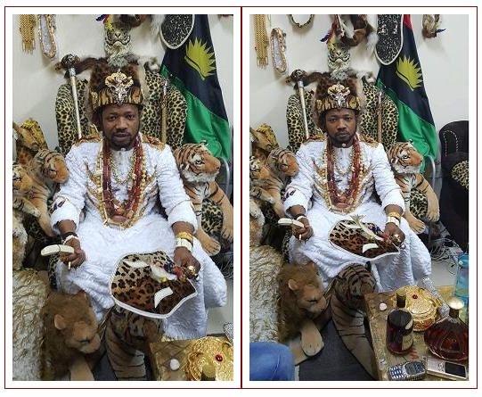 See the artifacts in the palace of the Igbo king in Dubai