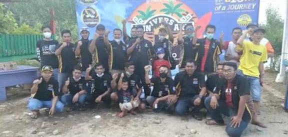 Gelar Anniversary Ke-3 ,  Maxxio Chapter Lampung Kedepankan  Kekompakan