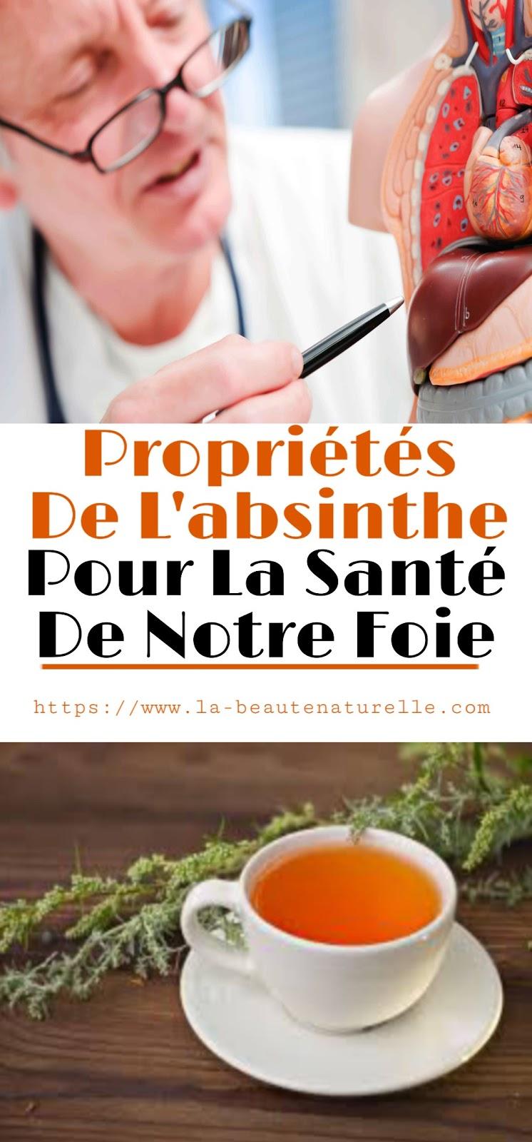 Propriétés De L'absinthe Pour La Santé De Notre Foie