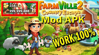Farmville 2 Country Escape Mod V13.2.4543 Apk Update Unlimited Key