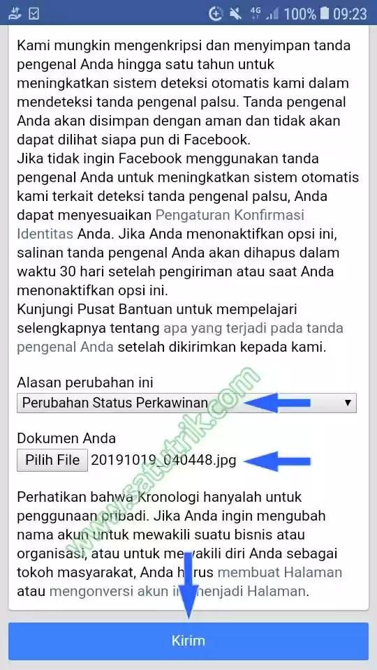 Cara Mengganti Nama di Facebook Tanpa Menunggu 60 Hari Lewat HP