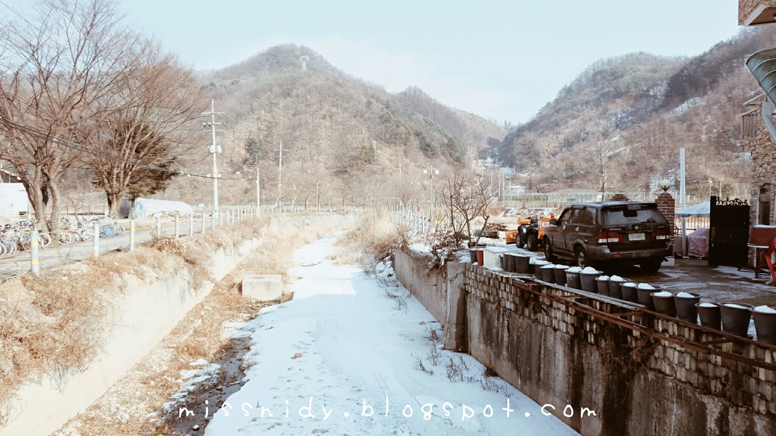 korean winter trip