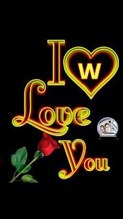 i love you w nameart