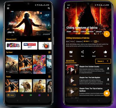 افضل برنامج لمشاهدة الافلام للاندرويد مجانا, تطبيق لمشاهدة الافلام مترجمة للاندرويد مجانا, BlizzTV apk