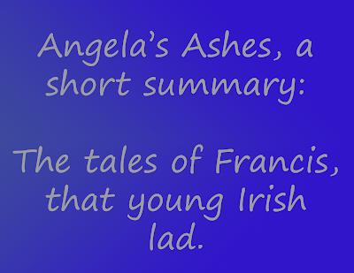 angelas ashes summary