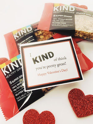KIND Bar Pun Valentines @michellepaigeblogs.com