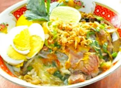cara membuat soto lamongan asli
