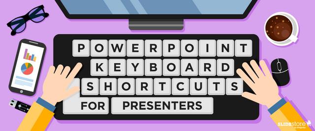 أفضل اختصارات لوحة المفاتيح لبرنامج العروض التقديمية باوربوينت PowerPoint
