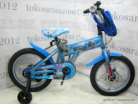 1 Sepeda Anak Wimcycle Cars 16 Inci