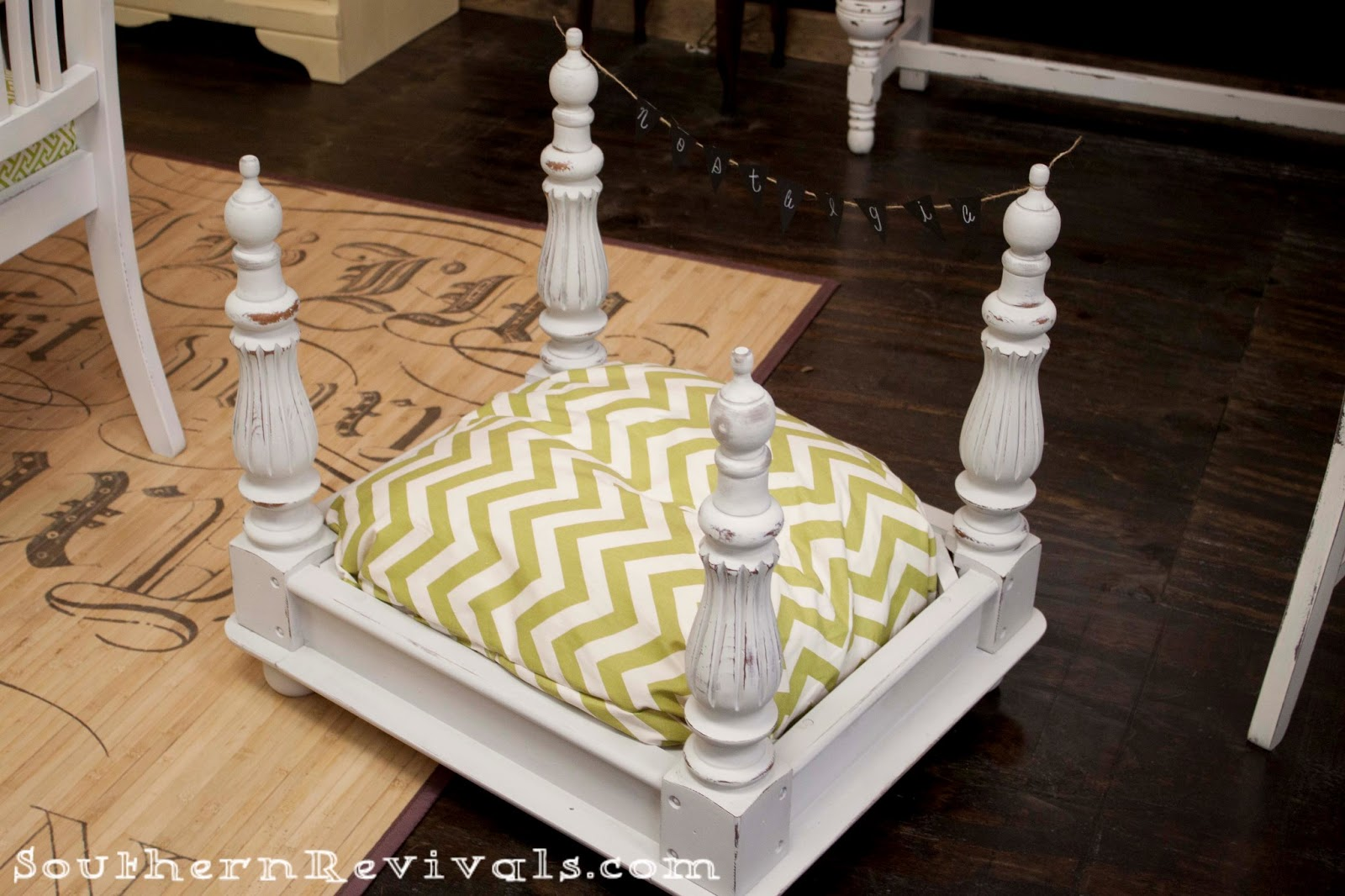 Diy End Table Pet Bed Southern Revivals