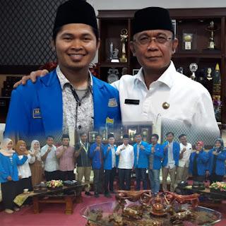 Silaturahim Ke Walikota Mataram, PMII Siap Bersinergi Tanpa Meninggalkan Identitas Kritis