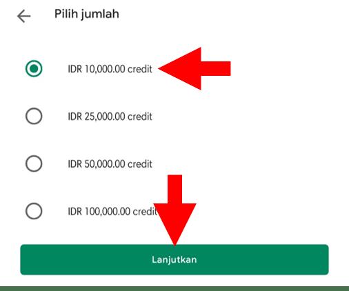 Pilih Nominal Credit Google Play