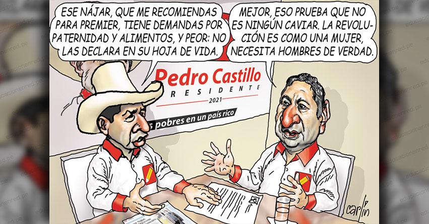 Carlincaturas Sábado 24 Julio 2021 - La República