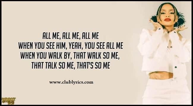 all-me-lyrics
